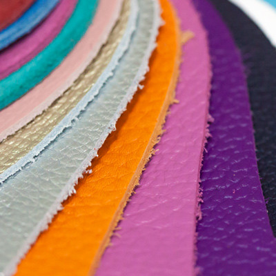 Creazioni artigianali Vanacore - Mazzetta campionario pelli